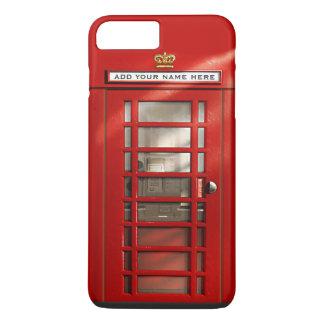 Coque iPhone 7 Plus Cabine téléphonique rouge britannique drôle
