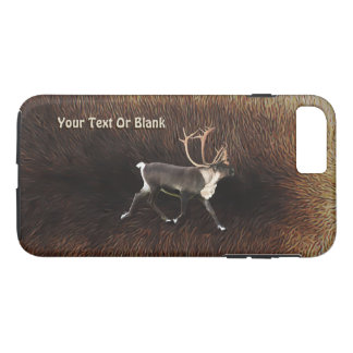 Coque iPhone 7 Plus Caribou de Taureau (renne)
