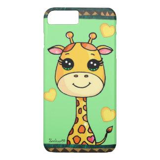 Coque iPhone 7 Plus Cas de girafe de bébé