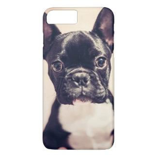 Coque iPhone 7 Plus Cas de l'iphone 7 de bouledogue français