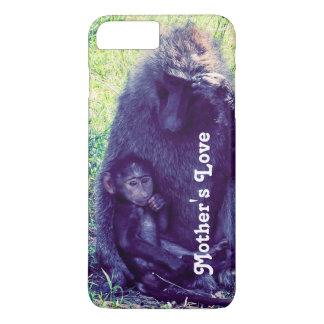 Coque iPhone 7 Plus Cas de téléphone avec des singes --