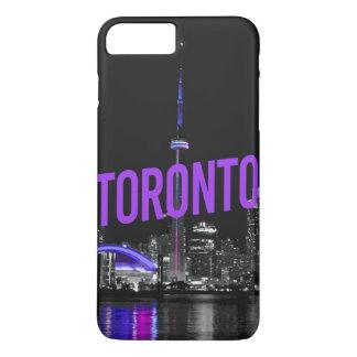 Coque iPhone 7 Plus cas d'horizon de Toronto d'iPhone (4,5,6,7,8)