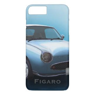 Coque iPhone 7 Plus Cas pâle de l'iPhone 7 de voiture de Nissan Figaro