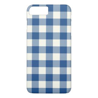 Coque iPhone 7 Plus Cas plus de l'iPhone 7 bleus classiques de guingan