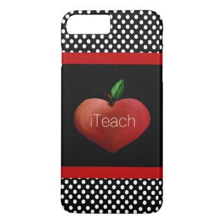 Coque iPhone 7 Plus Cas plus de l'iPhone 7 d'Apple du professeur rouge