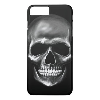Coque iPhone 7 Plus Cas plus de l'iPhone 7 foncés de crâne