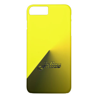 Coque iPhone 7 Plus Cas plus de l'iPhone 7 jaunes de gradient de Jules