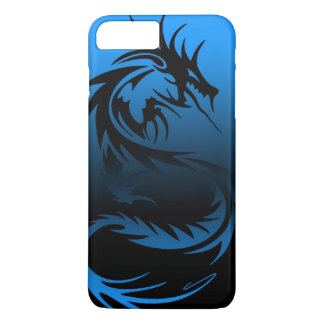 Coque iPhone 7 Plus cas tribal de téléphone de dragon