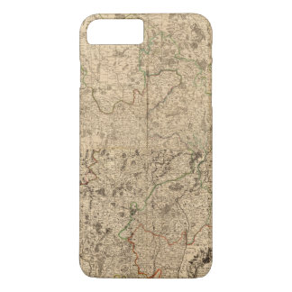 Coque iPhone 7 Plus Champs de bataille et routes romaines