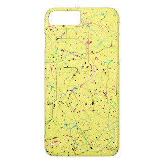 Coque iPhone 7 Plus Chaos jaune