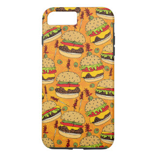 Coque iPhone 7 Plus Cheeseburger de luxe
