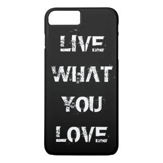 Coque iPhone 7 Plus Choisissez votre propre couleur des textes,