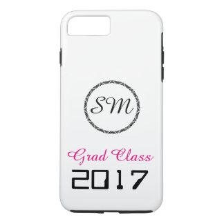 Coque iPhone 7 Plus Classe 2017 de diplômé -