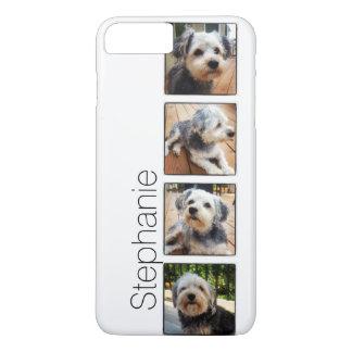 Coque iPhone 7 Plus Collage de photo d'Instagram utilisant des cadres