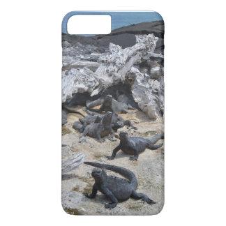 Coque iPhone 7 Plus Collection de Galapagos - iguanes marins