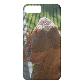 Coque iPhone 7 Plus Conception barbue mignonne de photo de dragon