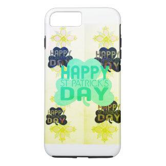Coque iPhone 7 Plus Créez votre propre jour heureux simple de Patrick