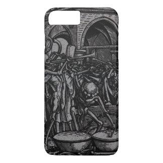 Coque iPhone 7 Plus Danse de la mort | les os de tous les hommes