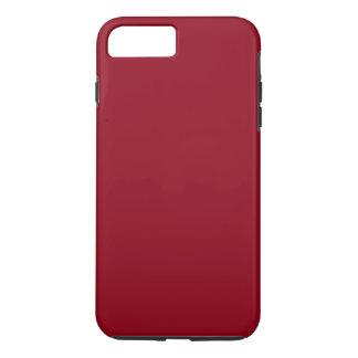 Coque iPhone 7 Plus ~~ de ROUGE de CERISE (une couleur fruitée solide)