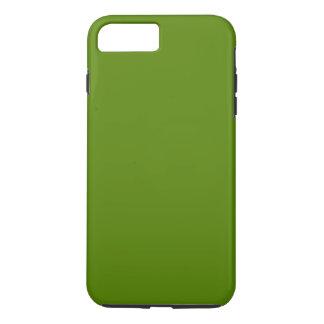 Coque iPhone 7 Plus ~ de VERT OLIVE (couleur solide)