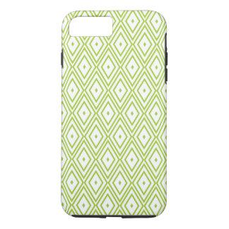 Coque iPhone 7 Plus Diamants de vert et de blanc de chaux