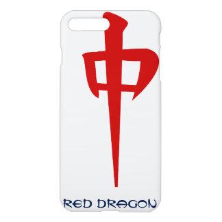 Coque iPhone 7 Plus Dragon rouge