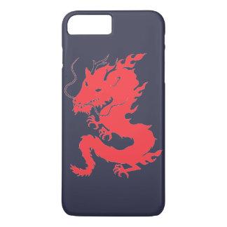 Coque iPhone 7 Plus Dragon rouge !