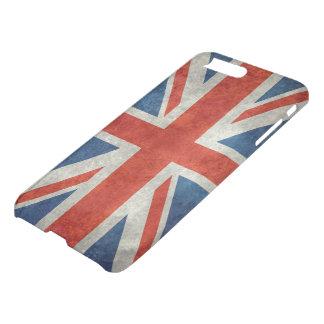 Coque iPhone 7 Plus Drapeau BRITANNIQUE d'Union Jack dans de rétros