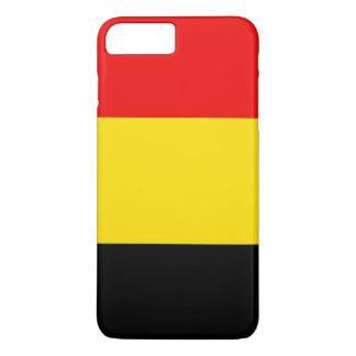 Coque iPhone 7 Plus Drapeau de la Belgique