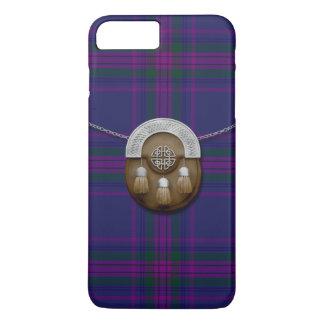 Coque iPhone 7 Plus Esprit de tartan et d'escarcelle de l'Ecosse