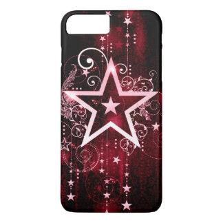 Coque iPhone 7 Plus étoile rouge