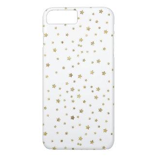 Coque iPhone 7 Plus Étoiles d'or