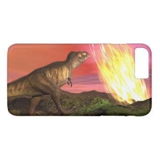 Coque iPhone 7 Plus Extinction des dinosaures - 3D rendent