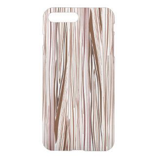 Coque iPhone 7 Plus Fibre de bois Brown foncé