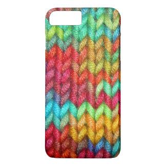 Coque iPhone 7 Plus Fil coloré de tricoteuses