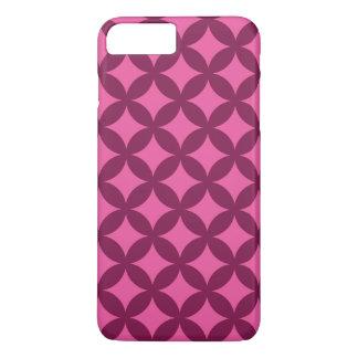 Coque iPhone 7 Plus Framboise et conception rose de Geocircle