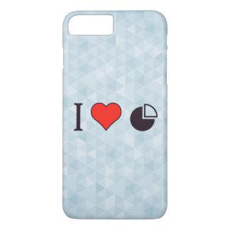 Coque iPhone 7 Plus I statistiques de coeur