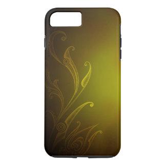 Coque iPhone 7 Plus Image lumineuse d'or d'été