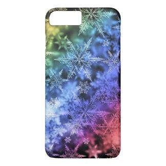 Coque iPhone 7 Plus IPhone 6 cas avec des flocons de neige !