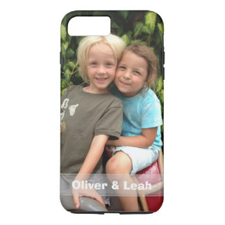 Coque iPhone 7 Plus iPhone de photo 8 Plus/7 plus le cas
