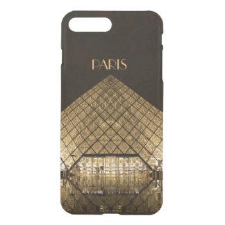Coque iPhone 7 Plus iPhone X/8/7 de pyramide de Louvre plus le cas
