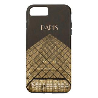 Coque iPhone 7 Plus iPhone X/8/7 de pyramide de Louvre plus le cas dur