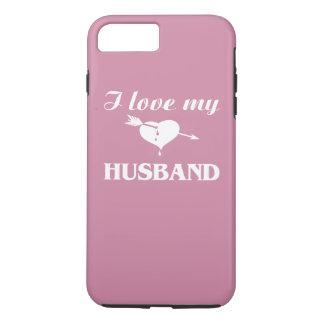 Coque iPhone 7 Plus J'aime mon mari
