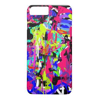 Coque iPhone 7 Plus Jour coloré abstrait