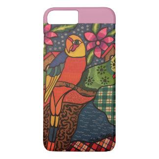 Coque iPhone 7 Plus Jungle de perroquet