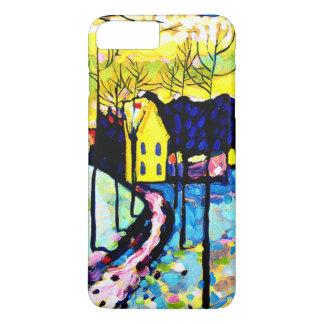 Coque iPhone 7 Plus Kandinsky - paysage d'hiver