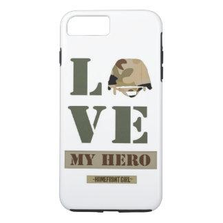 "Coque iPhone 7 Plus La marque de Girl™ de Homefront ""amour conception"