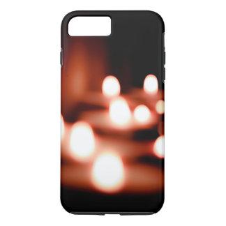 Coque iPhone 7 Plus La nuit allume le cas d'Iphone 6