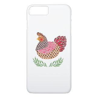 Coque iPhone 7 Plus La poule de Brown