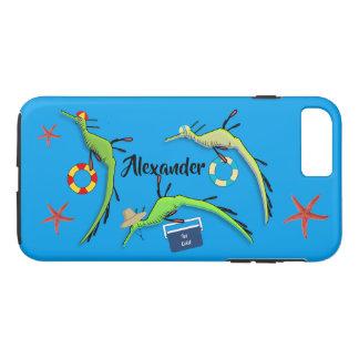 Coque iPhone 7 Plus La vie de plage des dragons de mer